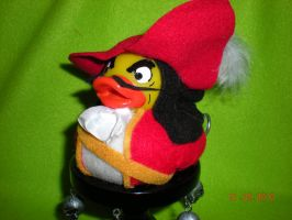Captain Hook Rubber Duck by Oriana-X-Myst