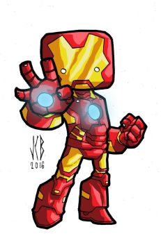 chubbies ironman by WOLVERINE76