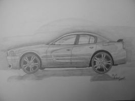 Charger Sketch by Saint0703