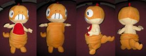 "Mini Scraggy ""Zuruggu"" Plushie by willowfall"