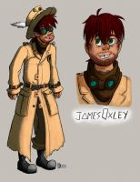 James Oxley again by t3h-puppeteer