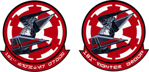 181st Imperial Fighter Group Fan Made by viperaviator