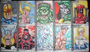 Marvel Retro Cards 06 by WOLVERINE76