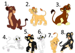 cub adoptables [offer to adopt][CLOSED] by horse-power