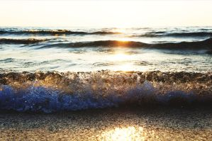 A Speckled Waterscape by martiansummer