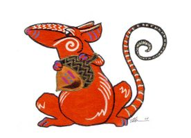 Red Rat 2 by ursulav