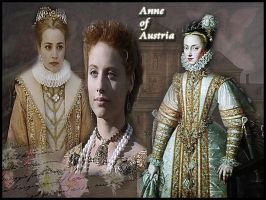 Anne of Austria, Queen of Spain by Nurycat