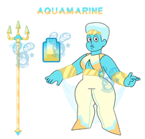 Aquamarine - Commission by Chobutt