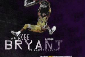 KOBE BRYANT LAKERS by pllay1
