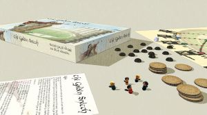 The Golden Snitch Boardgame by KatjaFin