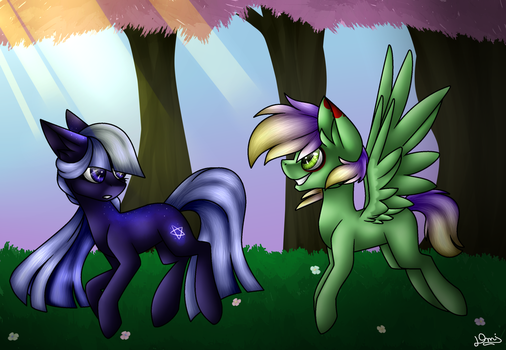 Art contest entry - Its a beautiful day, right? by DemiM0n
