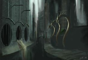 Sewer City by farbenleere