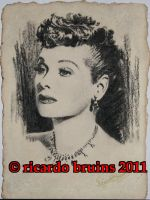 lucille ball by ricardo-bruins