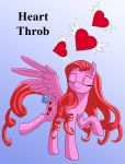 Heart Throb Isolated by Starbat