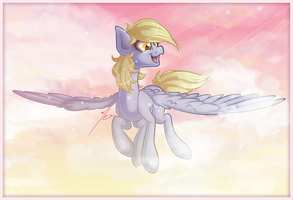 Derpy in the Sky with Diamonds by Ruaniamh