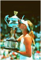 Maria Sharapova AO Champion by leftysrock