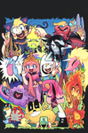AdventureTime comic 21 cover art by Gashi-gashi