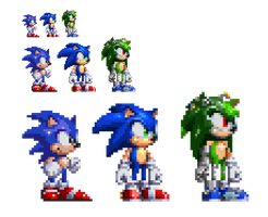 Some SPRITES by Clutch45