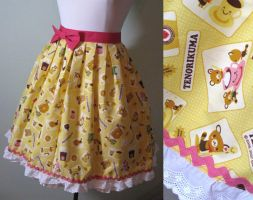 Tenorikuma Skirt by aimeekitty