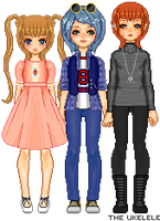 Pixel Babbies by TheUkelele