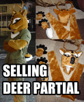 [SOLD] SELLING DEER PARTIAL by bornes