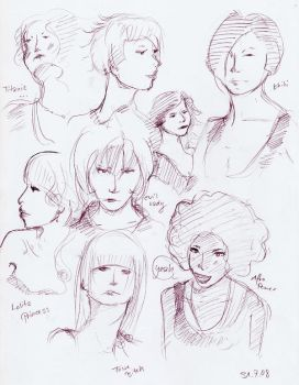 Lady Heads by NoTee