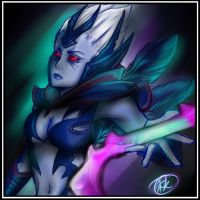 DoTA2- Vengeful Spirit by Tsukimochi