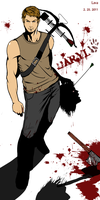 The Walking Dead Daryl by kimlava