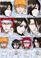 Byakuya protect Rukia EVERYWHERE by DevilishMirajane