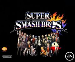 Super Smash Bros Newcomers Persona series by pp7jones