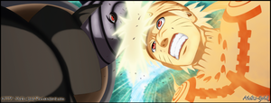 Naruto vs Madara by Aleks-Gold