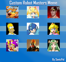 My Custom Robot Masters Ideas by SonicPal