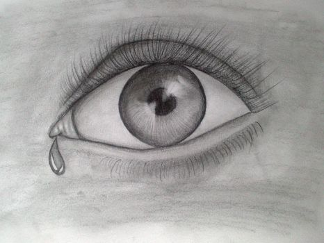 realistic eye attempt by positismo