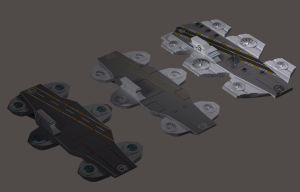 Omega 7 Helicarrier Columbia-3d Evolution by Roguewing