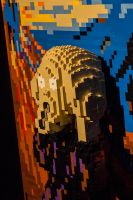 14-10 London - Art of Brick - The Scream by evionn
