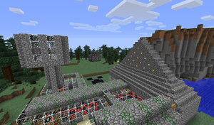 My house in minecraft, not the best, but i like it by Green-spectra