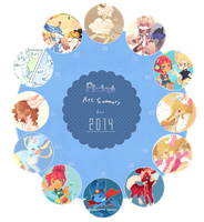 .:2014 Summary of Art:. by Pieology