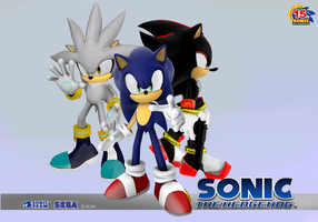 Sonic Next Wallpaper by eggmanteen