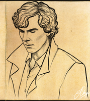Sherlock scribble by Cairisti