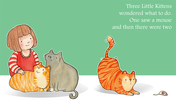 Three Little Kittens by springonion