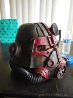 T45d Power Helmet-So close to completion by LightbringerCosplay