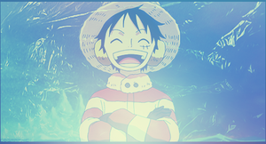 Monkey D. Luffy Signature - 7 by DeathB00K