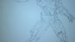 Halo commission WIP... by steelcitycustomart