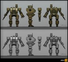 Mech Model Sheet by BrotherOstavia