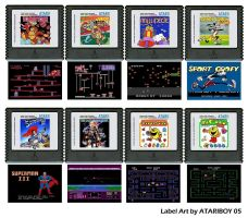 Atari Labels Art - 5200 by Atariboy2600