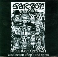 Sarcasm - CD Album Cover by mikegee777