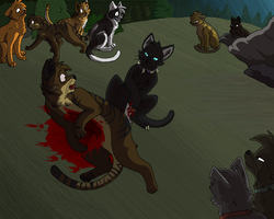 Tigerstar's Death 2011 by Miiroku