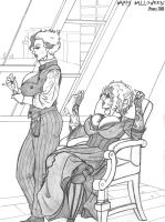 Sweeney Tara and Raine Lovett by RandomReduX
