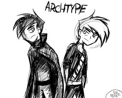 Archtype...Fail fanart by MilitiatheHedgehog