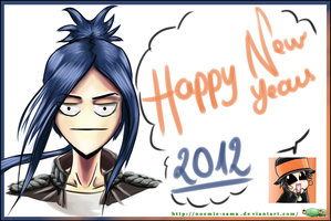 HAPPY NEW YEAR D_D by Mikonow